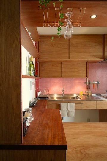 ラワン材の造付家具 | 池内建築図案室 通信 | ラワン, 家具, 家