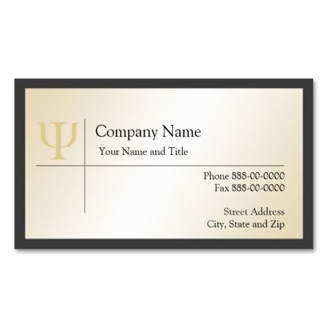 17 Psychology Business Cards Ideas Psychology Business Card Business Cards Psychologist Business Card