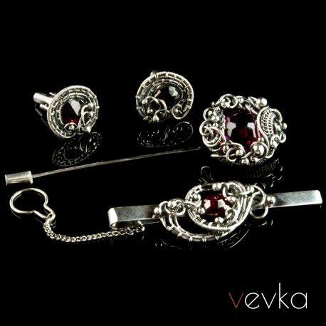 Komplet Z Granatem Zycie Na Goraco Vevka Pl Autorska Bizuteria Artystyczna Jewelry Accessories Beautiful