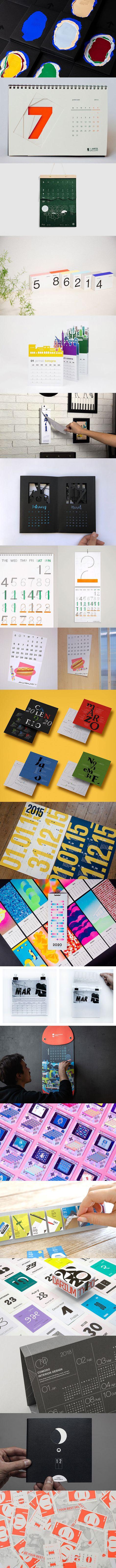 25 Creative Calendar Design Ideas for 2020