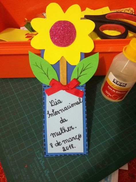 flower craft for mothers day