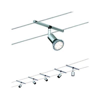 Systeme Cables Spice Salt Chrome Mat Max 5x10w Gu5 3 Idees D Eclairage Lumiere De Lampe Et Luminaire Led