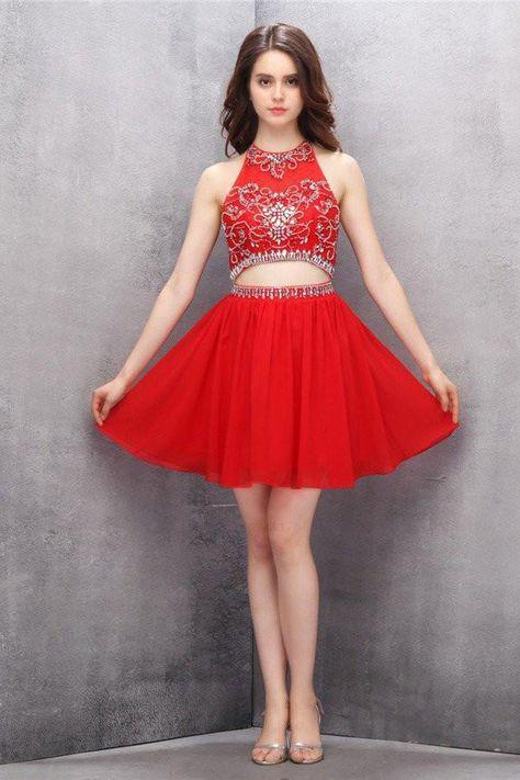 daa55e5b928 Discount Luxurious Chiffon Prom Dress