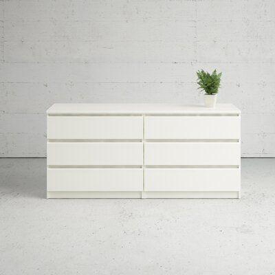 Kepner 6 Drawer Double Dresser In 2021
