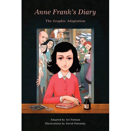 Pantheon Graphic Library Anne Frank S Diary The Graphic Adaptation Hardcover Walmart Com In 2020 Anne Frank Diary Anne Frank Classic Books