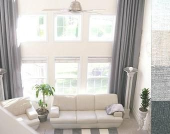 Diy Extra Long Curtain Rod Fireside Dreamers Long Curtain Rods Diy Curtain Rods Large Curtains