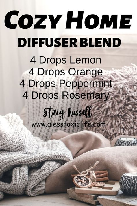 DIY Essential Oil Diffuser Recipe - Doterra Essential Oils - This diffuser blend using your young living oils will make your home smell so good. Use lemon, orang - Diy Essential Oil Diffuser, Doterra Essential Oils, Essential Oil Blends, Diffuser Diy, Young Living Oils, Young Living Essential Oils, Young Living Products, Essential Oil Combinations, Diffuser Recipes