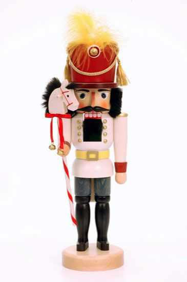 Nutcracker Toy soldier glazed - 40,5cm / 16 inch $95.00 plus shipping