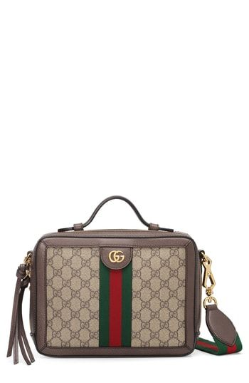 1adddee0 Gucci Small Ophidia GG Supreme Canvas Shoulder Bag | On-Trend ...