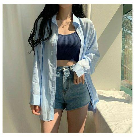 korean girl outfits summer
