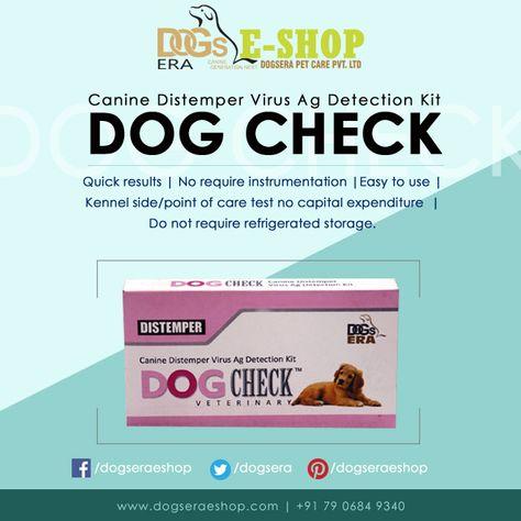 Canine Distemper Virus Detection Kit | Distemper Test Kit | Dogsera Eshop