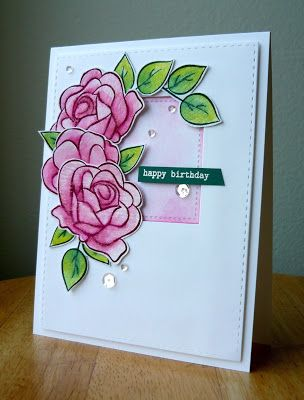 In Bloom Birthday With Images Birthday Card Design Card