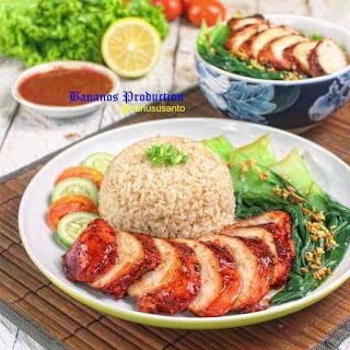 Resep Masakan Nusantara Charsiu Ayam Dan Nasi Hainan Resep Masakan Masakan Resep Masakan Sehat