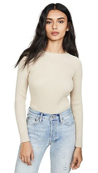 20 Neutral Sweaters Under $100 in 2020 | Ribbed sweater