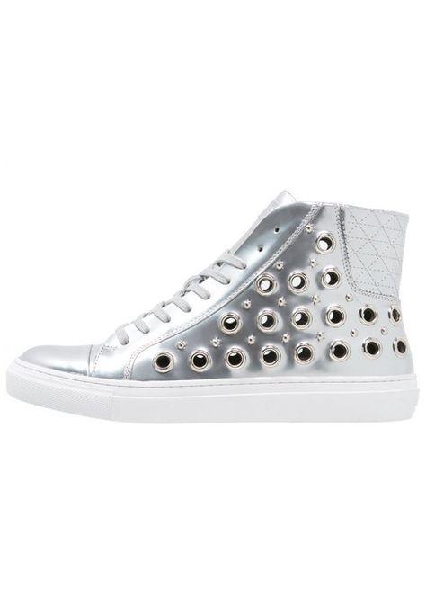Versus #Versace #Sneaker #high #silver für #Herren