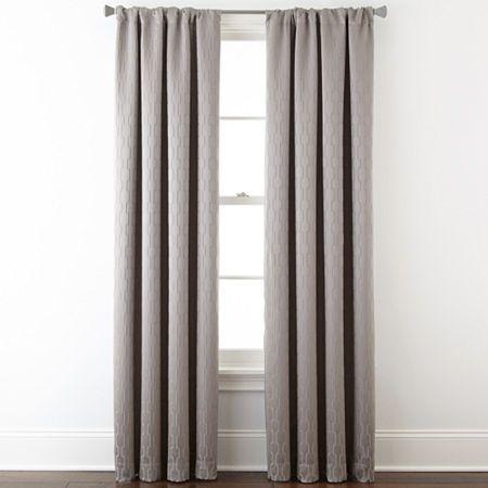Studio Luna Rod Pocket Blackout Lined Curtain Panel Panel
