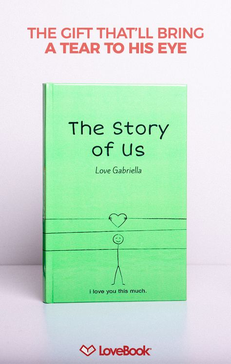 No doubt he knows you love him, but does he know all the little reason why? Tug on his heartstrings withLovebook, and create a story entirely unique to you. Your perfect anniversary gift awaits at lovebookonline.com