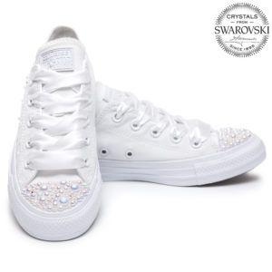 Converse Pearls Wedding edition | Tenisky converse, Converse