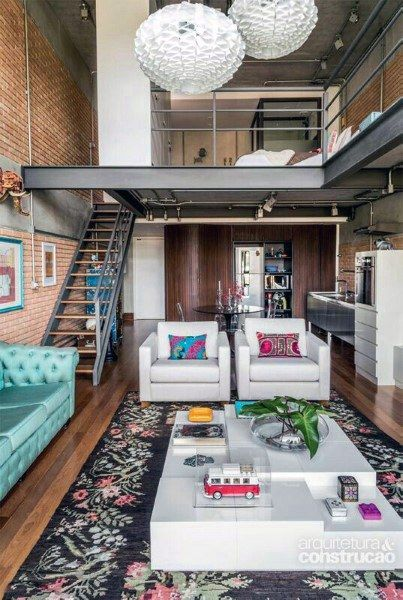 Gorgeous 67 Modern Loft Design Ideas Apartment Interior Design