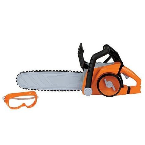 The Home Depot Deluxe Power Toy Chainsaw By Home Depot