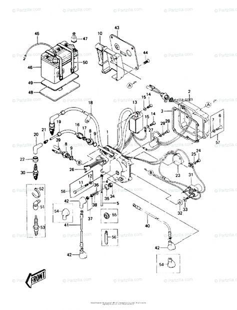 17 1997 Kawasaki 900 Triple Jet Ski Engine Wiring Diagram Engine Diagram Wiringg Net