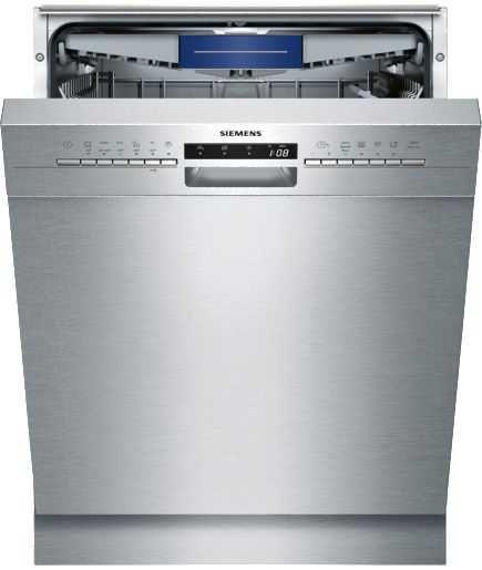 Siemens Unterbaugeschirrspuler Sn436s03me A Gunstig Kaufen