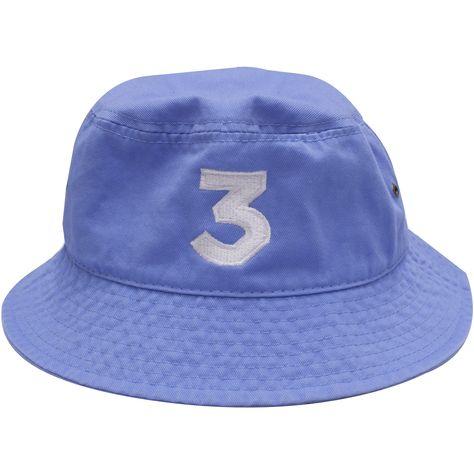 ee911fc47a5 Chance The Rapper 3 Hat Light Blue Chance The Rapper Bucket Hat ...