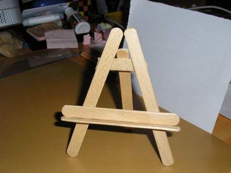 Comment Fabriquer Un Petit Chevalet Table De Lit Chevalet Bois
