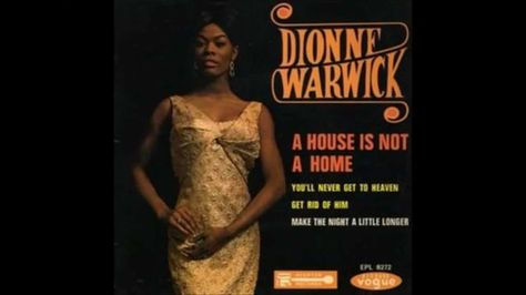 Dionne Warwick A House Is Not A Home Sound Studio Music