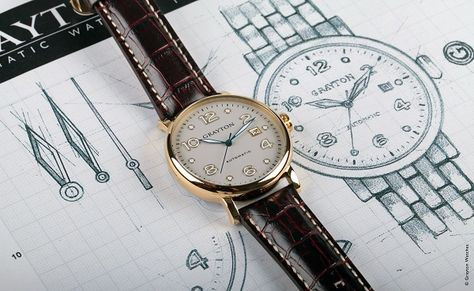 Montre mécanique et automatique GRAYTON Watch for men Grayton watch