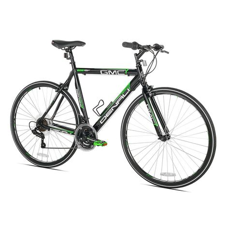 Men S Gmc Small Frame 700c Denali Flat Bar Road Bike Road Bike Bike Reviews Gmc Denali