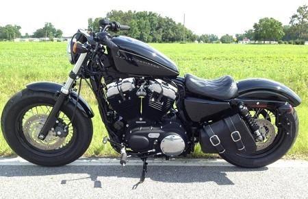 /'Bobber Bracket/' Solo Swingarm Bag Hard Mount Kit for Harley Sportster 48 and 72