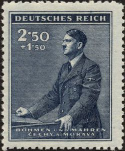 History In Pictures On Temporary Postage Stamp Design German