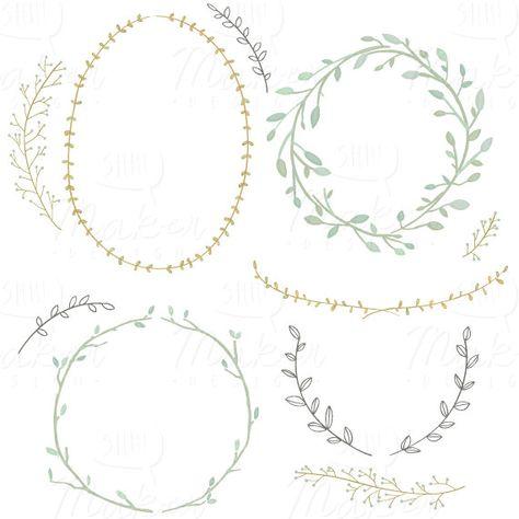 couronne laurier dessin