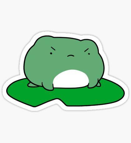 Froggie sticker