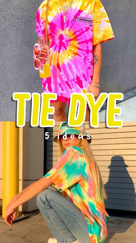 Como hacer tie dye!! DIY Transforma tu ropa con tecnica batik (remeras, camisetas y hoodies)