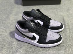 442f1c5d976 Nike Air Jordan 1 Low Shadow White Atmosphere Grey Black 553558 110 Mens  Womens Basketball Shoes