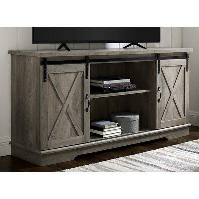 27+ Gray farmhouse tv stand type