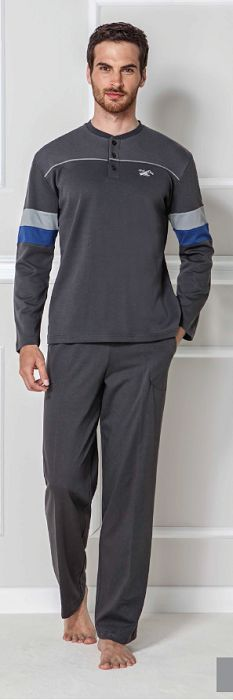 Mod 1500 Uzun Kollu Patli Pijama Takimi Http Www Toperlersatis Com Tr Mod 1500 Uzun Kollu Patli Pijama Tak Mens Outfits Long Sleeve Tshirt Men Mens Pajamas