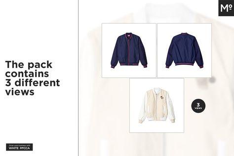 Download Bomber Jacket Mock Up Icon Design Inspiration Bomber Jacket Shirt Mockup