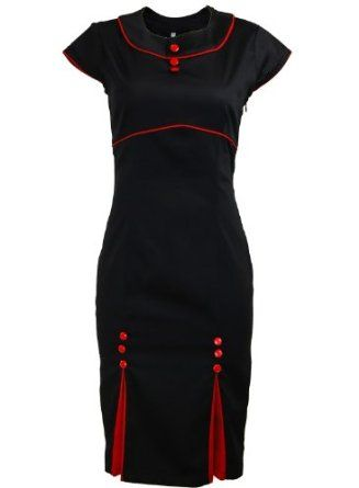 Double black rockabilly dresses