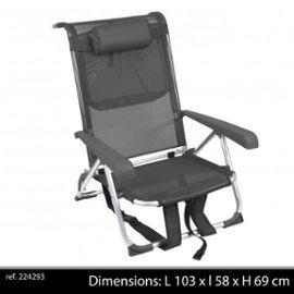 Fauteuil Chaise Longue A Dos Aluminium Transportable A Sangle Portable Pour Transport A La Plage Ou Camping Ref 32 Chaise Longue Chaise Pliante Chaise