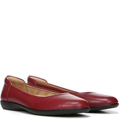 Naturalizer Flexy Red Leather   Red