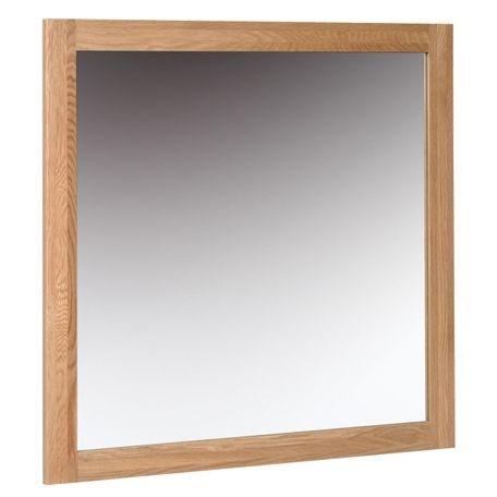 New Oak Medium Wall Mirror By Devonshire Rustic Wall Mirrors