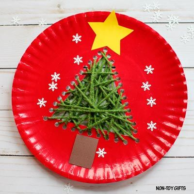 Paper Plate Christmas Tree Craft For Kids Preschooler Craft Christmas Crafts Christmas Tree Crafts Christmas Crafts For Kids