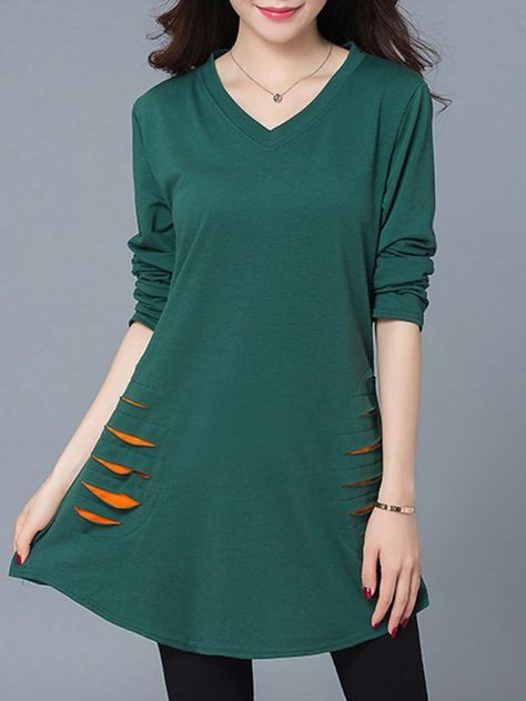 Casual dresses kohls casual women v-neck horn patchwork pure color long  sleeve dresses  casual  dress  code  casual  dresses  canada  casual   dresses  for ... fe5c13a04