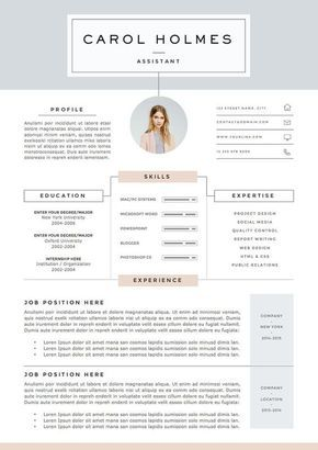 5 Pages Resume Template Et Lettre D Accompagnement Etsy Resume Design Resume Template Creative Resume