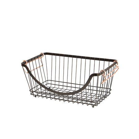 62799dca1ba6076d7619afda3706a747 - Better Homes & Gardens Medium Stacking Wire Basket