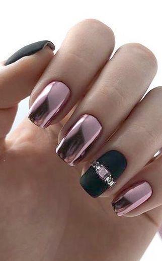 Matte Multi Color Nails And Daily Nail Care Routine Of Best Nail Care Kit So Nail Care Spa Toccoa Ga Solid Color Nails Classy Nail Designs Natural Nails