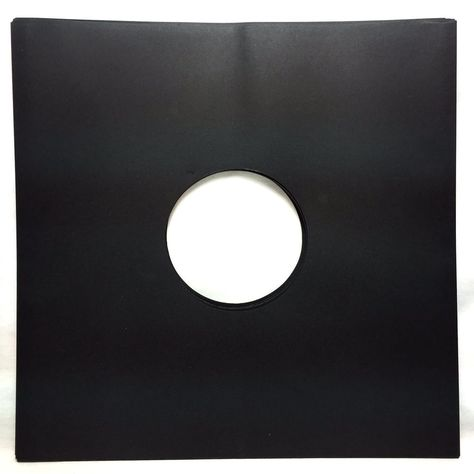25 Black Paper Record Inner Sleeves Lp Vinyl 12 Album 20lb Stock 33rpm Paper Black Paper Lp Vinyl Vinyl Storage